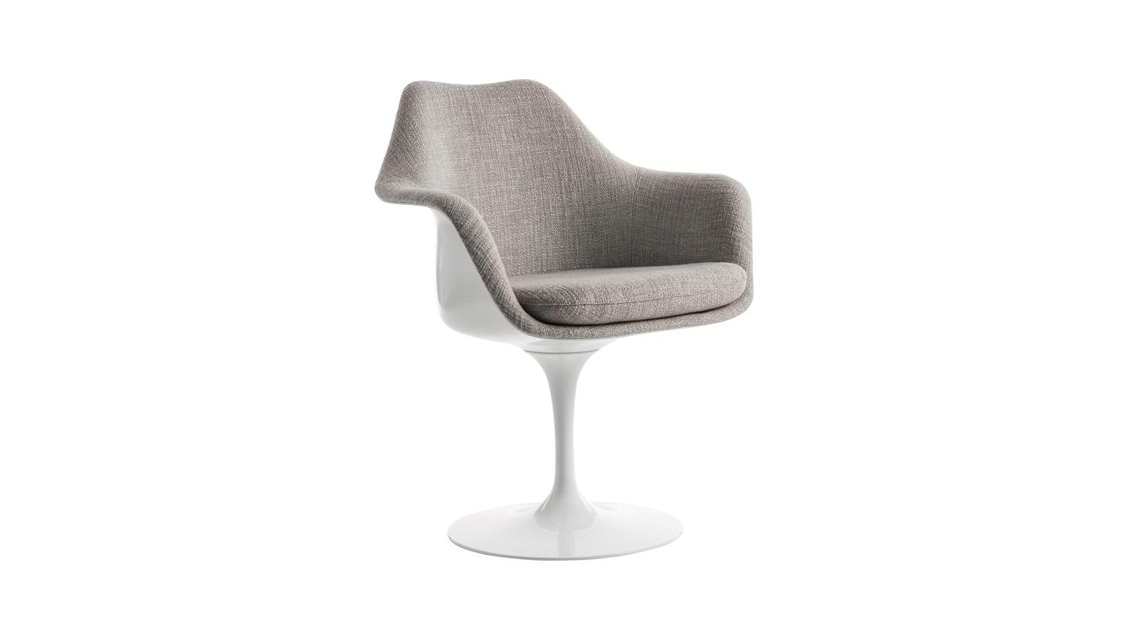 A világhírű tervező, Eero Saarinen előtt nem létezett játékosság a bútorgyártásban. Ő viszont úgy döntött, az üveggyapothoz és a természethez nyúl, hogy új, ergonomikus, könnyed és kényelmes székeket alkosson, melyek korát, az űrkorszakot is megörökítik. Így született meg a tulipánformájú étkezőszék, mely azóta megannyi fényképen, filmművészeti alkotásban és otthonban szerepel. Így vonult be a modern design a hétköznapjainkba. A futurisztikus székeket több színváltozatban is elérheti a CODE Showroom kínálatában!