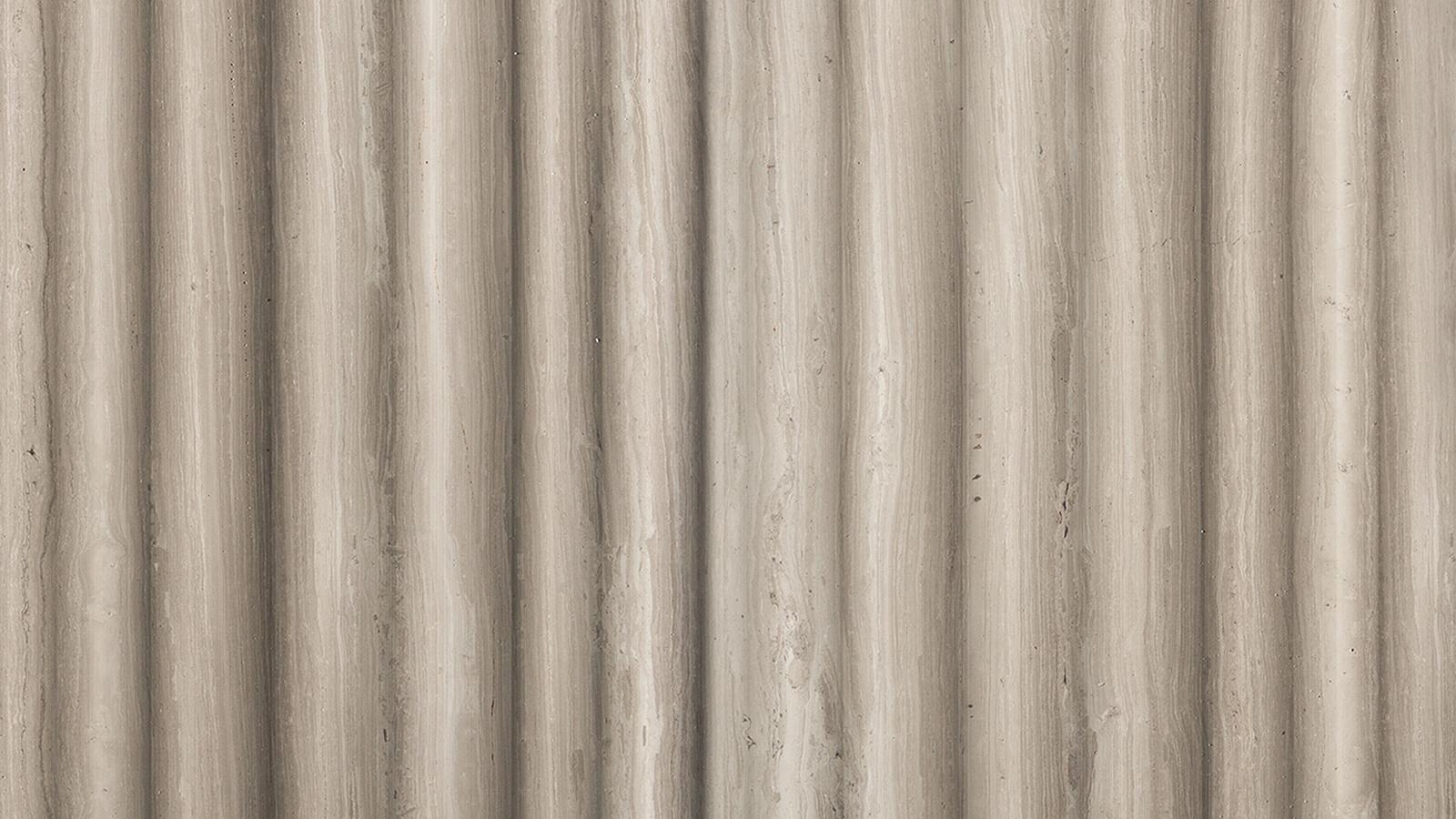 A Rain egy olyan textúra, mely szinte tapinthatóvá teszi a nyugalom és a harmónia érzését – nem véletlenül. A Piero Lissoni sztárdesigner által tervezett burkolaton, melynek ezen a képen Carrara-i márványból készült változata látható, egyértelműen érezhetőek a japán hatások, ritmikus mintázata pedig az eső következetes záporozására emlékeztet.