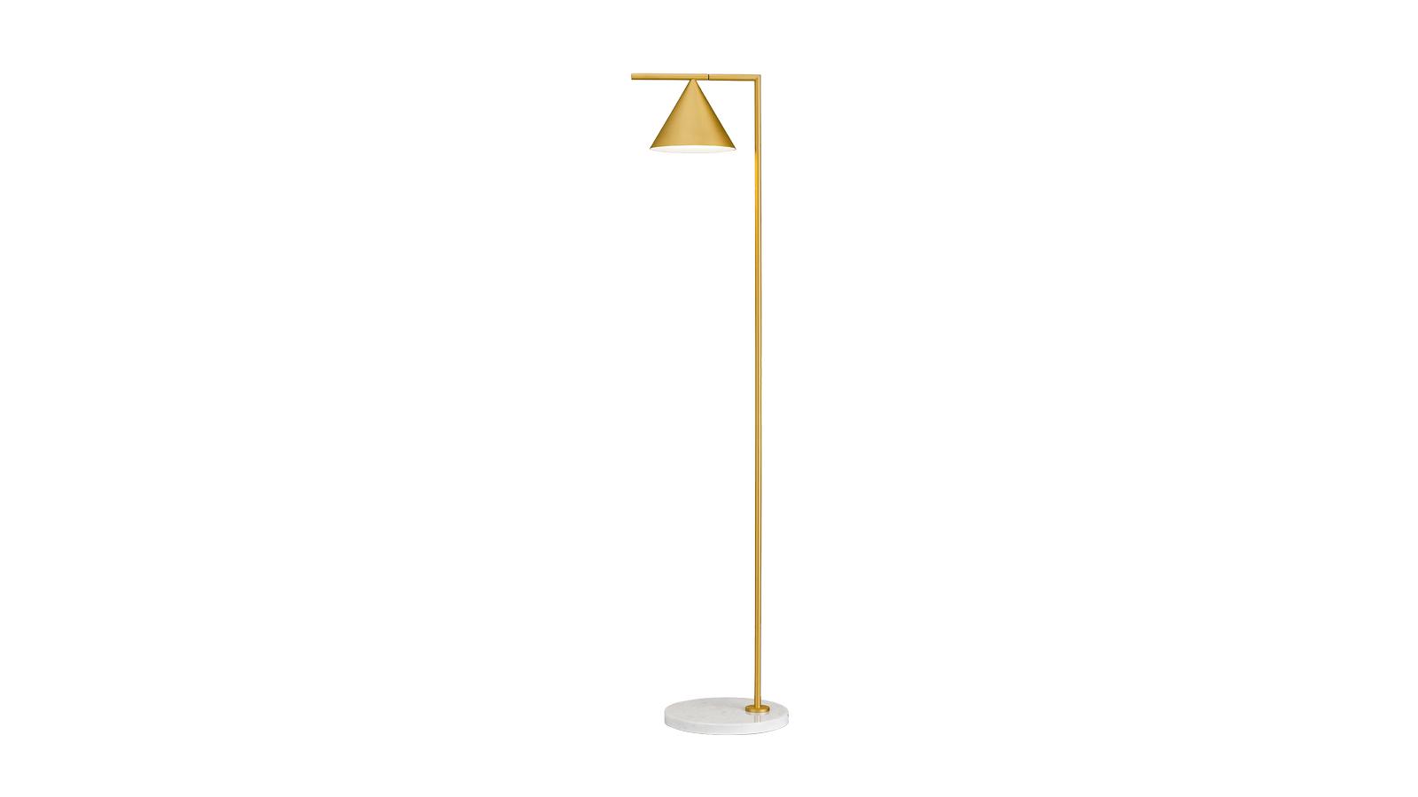 """""""A Flos Captain Flint lámpája karcsú és kecses, tetőtől talpig elegáns fényforrás. Közvetlen, tiszta fényt vet a megvilágított területre. A lámpafej forgatható és állítható: a tárgynak otthont adó tér több pontja is reflektorfénybe kerülhet. Michael Anastassiades a Captain Flint megtervezésével egy kettős funkciójú lámpát tervezett: a fejrész felfelé fordítva az egész térnek ad fényt, lefelé forgatva pedig direkt, fókuszált fényforrás olvasáshoz, tanuláshoz, munkához. Egy letisztult megjelenésű bútor is lehet sokoldalú! """""""