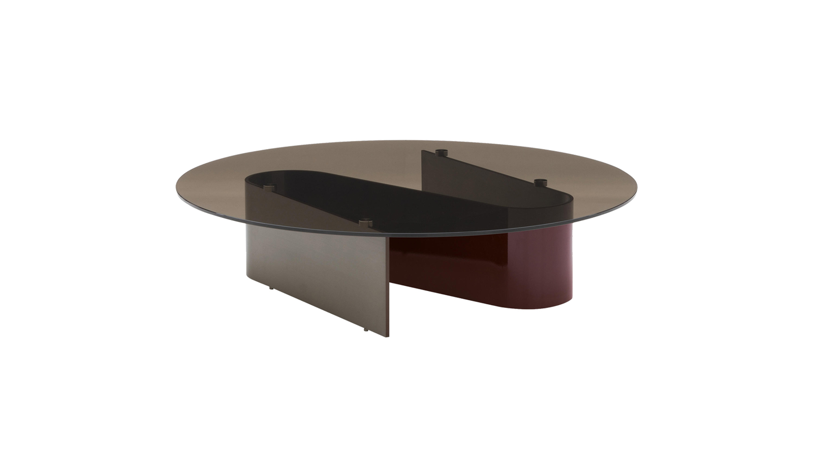A Bender asztalcsalád a kortárs szobrászat előtt tiszteleg, míg az asztalok fémlábai a megszülető és megszűnő hullámokat ábrázolják. Az anyag szigorúságát az opálos üveglapok oldják fel. Különböző méretük és formájuk által könnyen párbeszédbe elegyednek a nappali bármilyen bútorával.