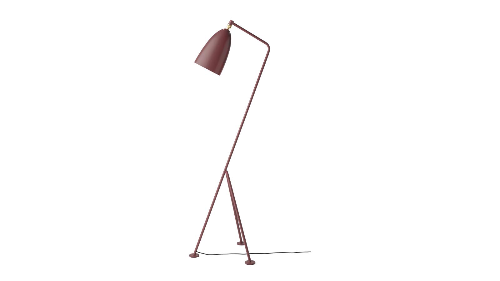 Az Ikonikus Gräshoppa asztali lámpát 1947-ben mutatták be Greta M. Grossman tervezésében. Az egyedi háromlábú tartószerkezet egyik lábának meggyújtása tartja a lámpafejet - amely mintha a természetestől ellentétes irányba kanyarodna. A megdöntött kompozíció azt az illúziót kelti, hogy a lámpa lépésben van, és követi áldozatát. Grossmann egyik legnépszerűbb darabja nem csak stílusos, de praktiklus elem is: forgatható fejének köszönhetően direkt fényt biztosít a megvilágított területre.