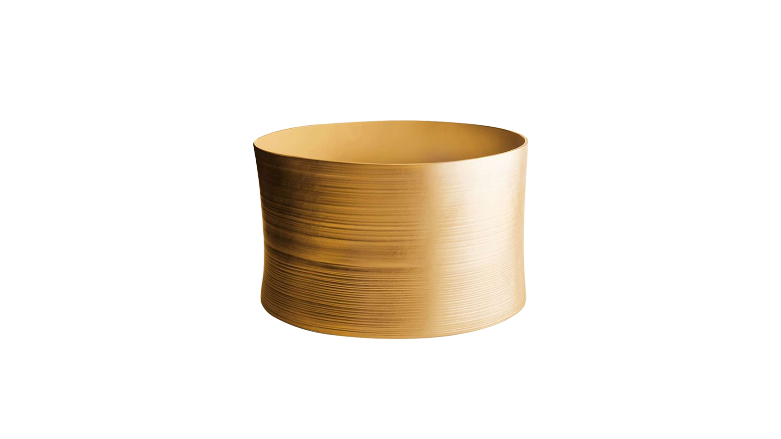 Marcel Wanders a Gold kollekcióban túlméretezett tárgyakat hoz létre - váza, tál, és zsámoly, többek között ezek az elemek sorakoznak a termékcsaládban. Feltűnő arany bevonattal szerepeltet luxustárgyakat, amelyek mögött irónia húzódik meg: a luxusdesign gyakori stílusjegyeit fordítja ki a hiperbolikus jelleg, és az únásig használt aranyszín megjelenítésével - így akár paródiájaként is értelmezhető.