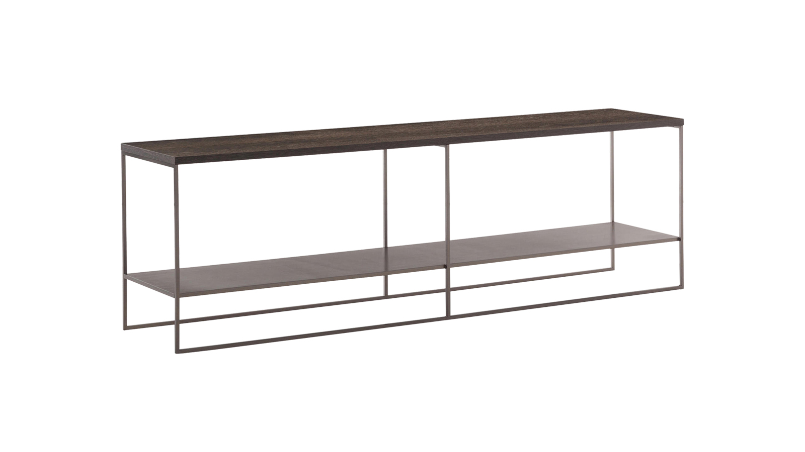 A Minotti tárolóbútorai közül a számos különböző méretű dohányzó- és konzolasztalból álló Calder rendszer az egyik legsokoldalúbb. A sorozathoz tartozó bútorok karcsú, fém lábakon állnak, melyek – akárcsak az asztallapok és polcok – többféle színben elérhetők, ennek köszönhetően az egyes darabok remekül testreszabhatók.