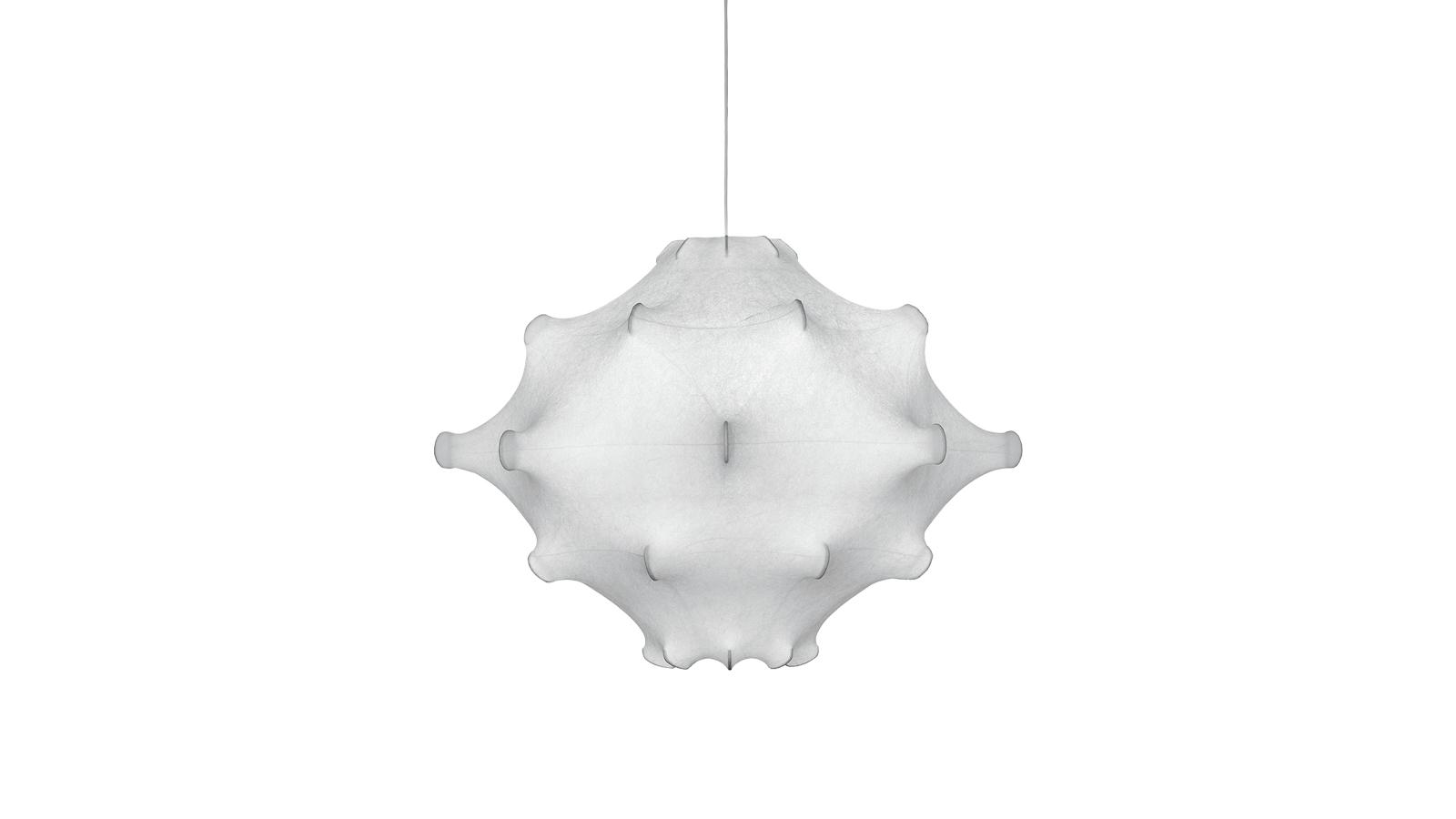 A Cocoon Taraxacum a pitypangról kapta elnevezését, mely épp olyan állandó és világszép része a réteknek, ahogy a függőlámpa a étkezőnek. A kecses lámpa hangulatos atmoszférát biztosít a selyem búrán átszűrődő fénynek köszönhetően.