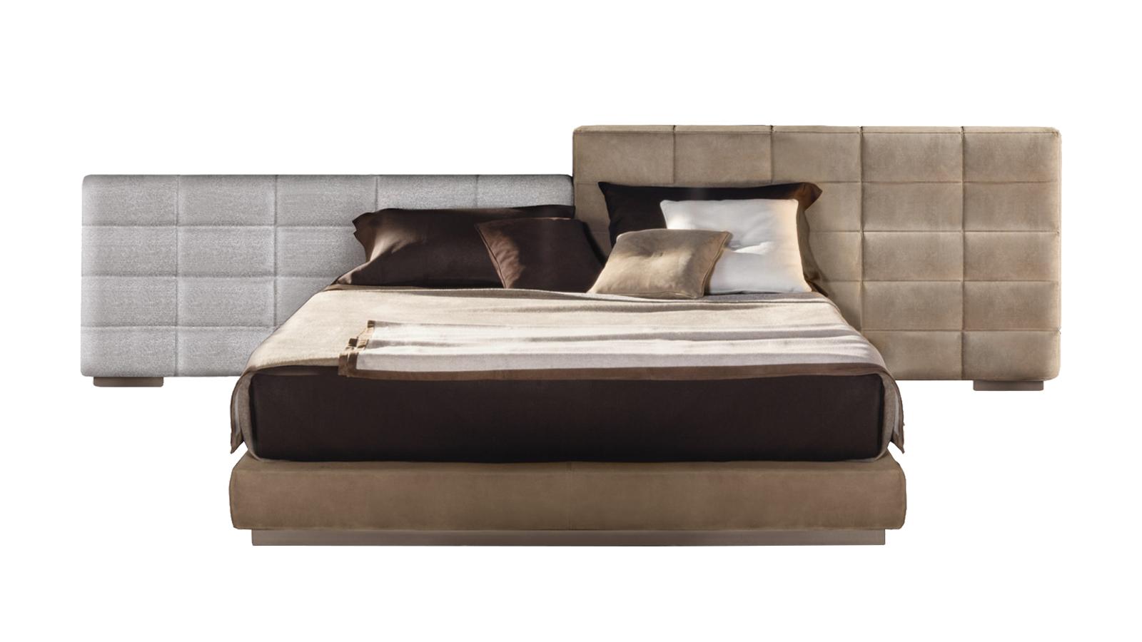A Lawrence a klasszikus ágyak esztétikáját idézi, de mindezt a kortárs design formanyelvére hangolva. Az arányok egyensúlya, és a mesteri konstrukció a cég védjegyévé váló kézművesség és technológia ötvözésére való hajlamot hívja elő. Flexibilis, variálható bútor, a fejtámla szétszedhető és átalakítható: kétféle magasságban és háromféle szélességben, ezzel kaput nyitva a kreatív önkifejezésnek - használója dönti el, hogy szimmetrikus, vagy asszimetrikus végeredményt szeretne. A kárpit elegáns varrású, a grafikai elemek pedig modernek, újszerűek.