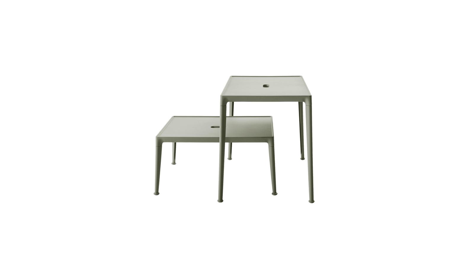 Időtlen eleganciát sugároz a B&B Italia Mirto kollekciója, mely a minimalizmus szellemiségében fogant. A sorozathoz tartozó kültéri kisasztalok bármilyen kültérben jól működnek, bármilyen stílushoz jól illenek, anyaghasználatuknak köszönhetően pedig rendkívül tartósak, ráadásul könnyen mozgathatók.