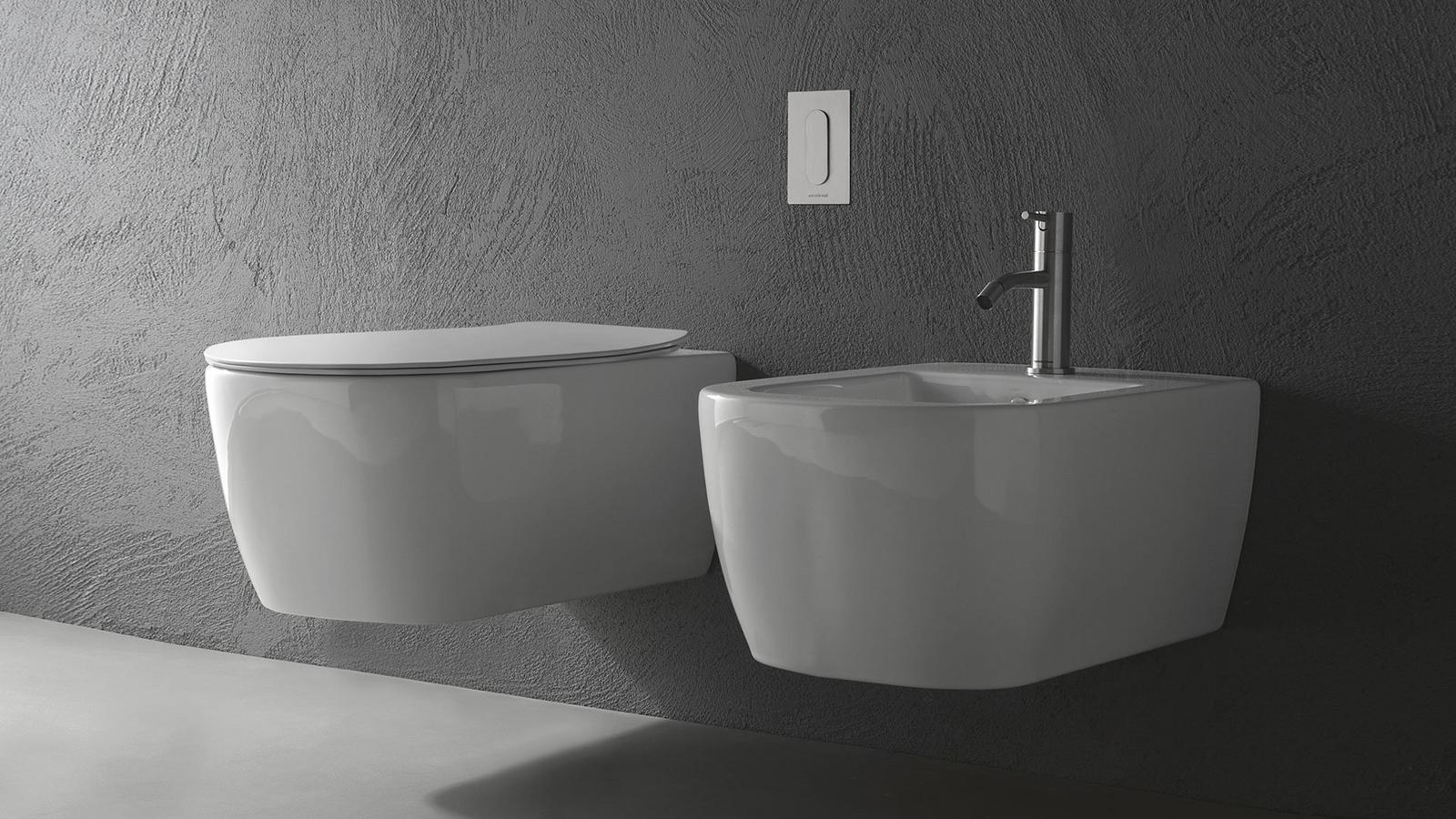 Egyenes vonalak, és lágy, legömbölyített felszín ötvözete a Komodo, mely a kortárs belsőépítészeti stílusok döntő többségéhez remekül illeszkedik. A függesztett wc-kagyló család fényes vagy matt kerámiából is elérhető, és bidé változatban is kapható.