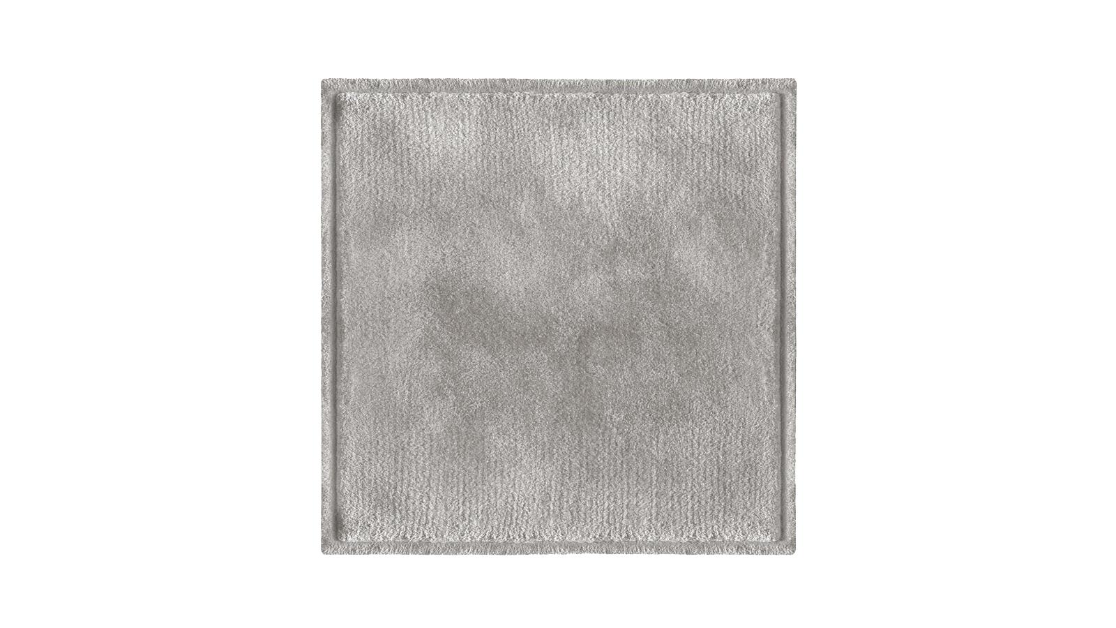 A Minotti szőnyegkollekciói közül a Dibbets Rim az egyik sokoldalúbb. Az öt centiméter széles, süllyesztett peremnek köszönhetően a szőnyegek puhasága sokkal jobban érvényesül, és érvényre jut egyedi felületük szépsége is. A Dibbets Rim szőnyegek kézi, ún. handtufting tűzőeljárással készülnek, három méretben, és számos színben elérhetők.