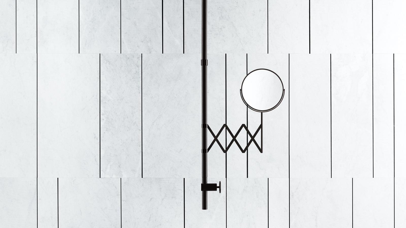 A Salvatori burkolatgyártó és a Fantini csaptelepgyár együttműködéséből született Fontane Bianche sorozat esetében az archetipikus formákat csupaszította le modern, minimalista geometriai jelekké Elisa Ossino formatervező. A végeredmény egy már-már nem is észrevehető szerelvénysorozat, mely visszafogottságával, szerénységével szinte teljesen háttérbe vonul és ezáltal a fürdőszoba többi részletére irányítja figyelmünket.
