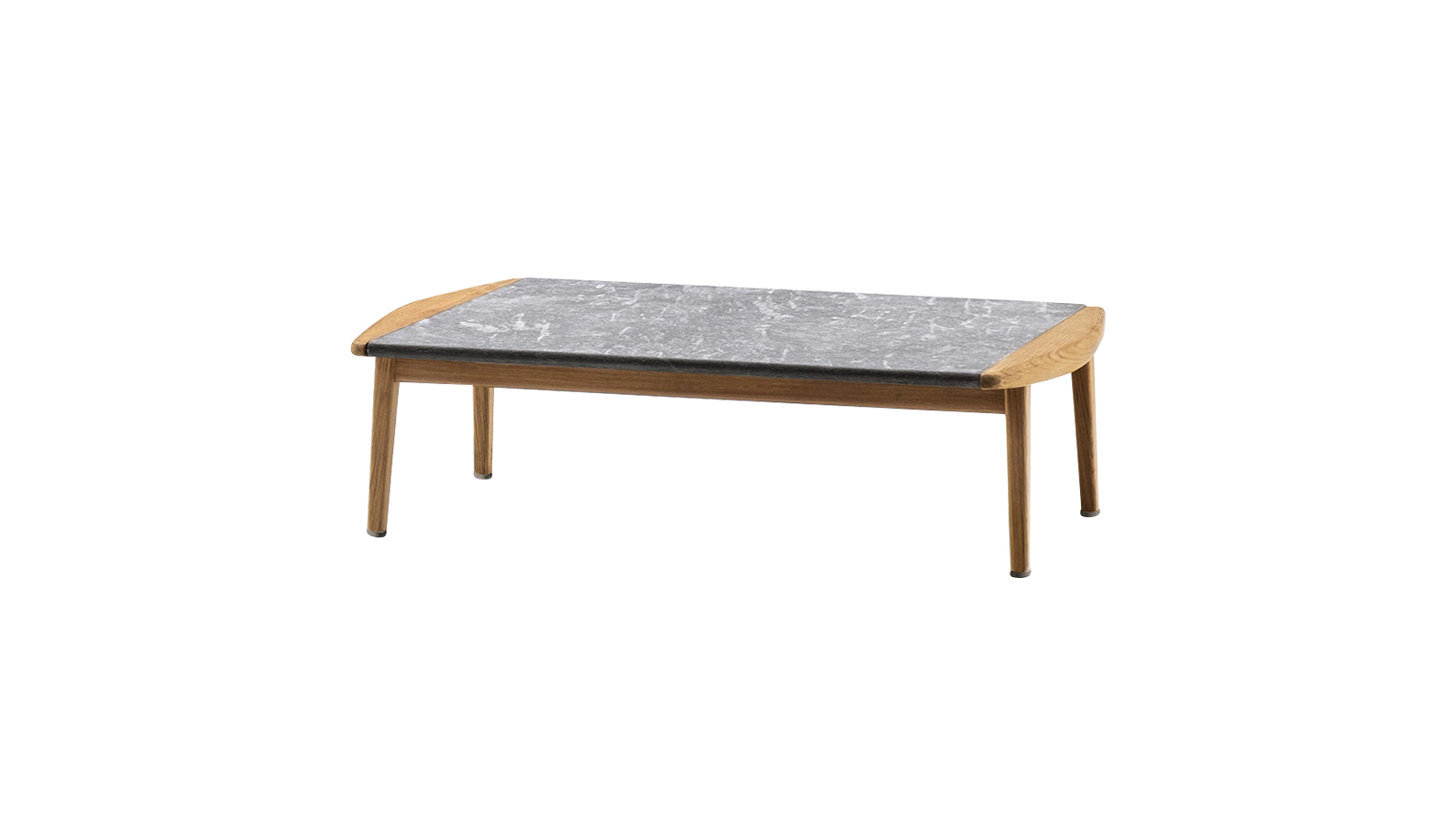 Skandináv design és olasz kézművesség keveredik a Minotti Fynn outdoor kollekciójában, mely kissé retró stílusával emelkedik ki a többi hasonló bútordarab mezőnyéből. A kültéri lerakóasztal-sorozat esetében ugyanaz a lágy ív határozza meg a designt, mint a kollekció többi darabjánál, míg a tárgy középpontjában a Cardoso-i kőből készült asztallap áll.