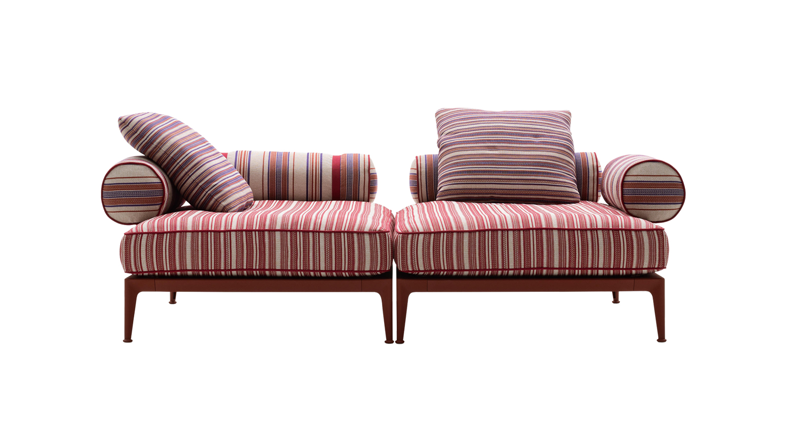 Az olasz vidéki házak otthonosságát és barátságos stílusát képviseli a Ribes kanapérendszer, mely a modern kor igényeit is kielégíti. Az antik heverőket megidéző bútorcsalád modularitásának és széles anyagválasztékának köszönhetően könnyedén használója igényeire szabható, puha rácsos háttámlájának és ülőrészének hála pedig maximális kényelmet biztosít.